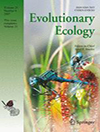 Evolutionary Ecology 21 issue 6